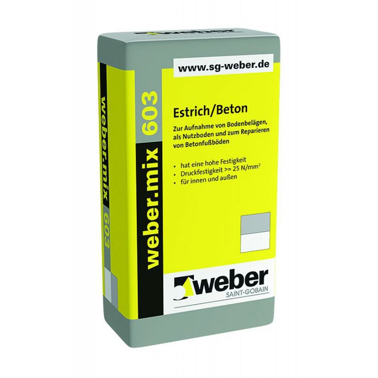 Favorit weber.mix 603 GK87